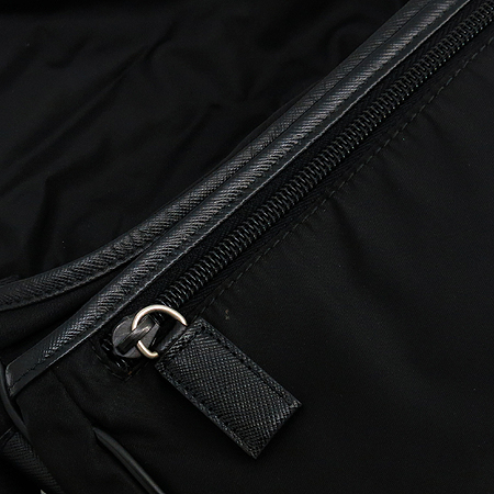 Prada(프라다) V158 측면 로고 패브릭 메신져 크로스백