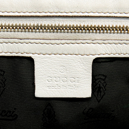 Gucci(구찌) 189883 화이트 리본 레더 토트백