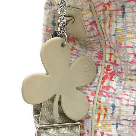 Chanel(샤넬) 멀티 컬러 패브릭 클로버 장식 2WAY