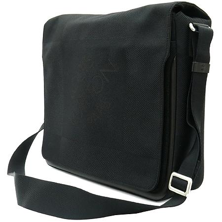 Louis Vuitton(루이비통) M93032 다미에 제앙 블랙 캔버스 메사제 크로스백