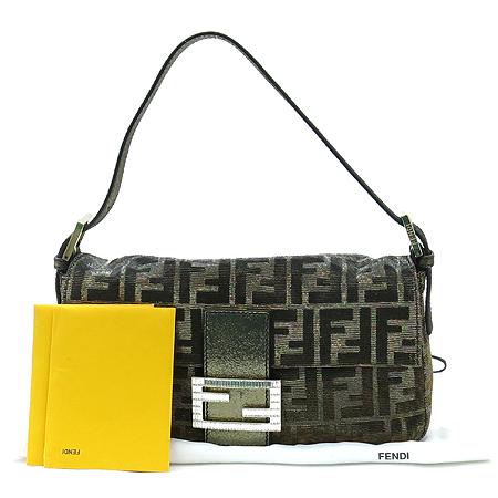 Fendi(펜디) 8BR600 FF 로고 자가드 바게트 버클 장식 숄더백