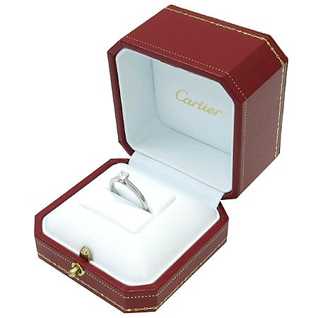 Cartier(까르띠에) N4227200 솔리테어 1895 PT950 0.27ct 다이아 (VVS1/F) 웨딩반지-12호 [명동매장]