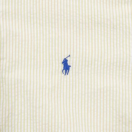 Polo Ralphlauren(폴로) 옐로우컬러 스트라이프 반팔 남방 이미지3 - 고이비토 중고명품