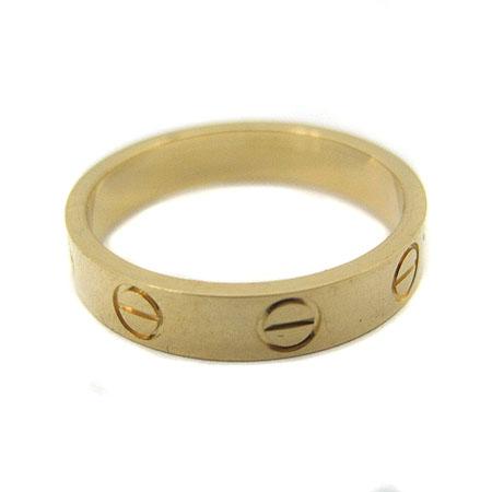 Cartier(까르띠에) 18K(750) 옐로우 골드 미니 러브링 반지 - 10호 [명동매장]