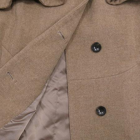 System(시스템) 베이지컬러 캐시미어혼방 후드 코트 (배색:여우털100) 이미지5 - 고이비토 중고명품