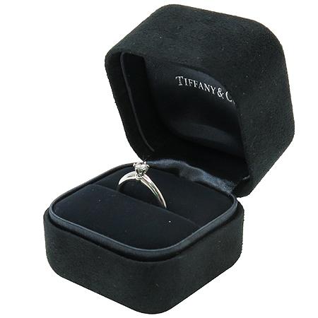 Tiffany(티파니) PT950 (플래티늄) 1포인트 다이아 (0.16 캐럿) 웨딩 반지-9호 [동대문점]