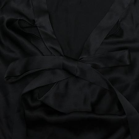 Martine Sitbon(마틴싯봉) 블랙컬러 실크 민소매 원피스