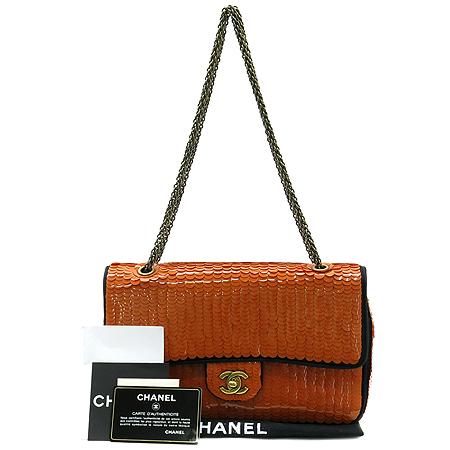 Chanel(샤넬) 시즌 한정판 클래식 라인 스팽글 아이콘 체인 숄더백 [부산본점]