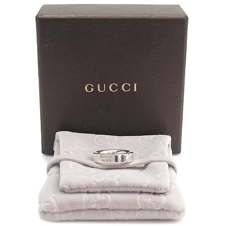 Gucci(구찌) 925(실버) 라운드 반지-8호