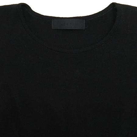 Mine(마인) 블랙 컬러 민소매 니트