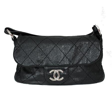 Chanel(샤넬) 은장 COCO 로고 블랙 레더 퀼팅 숄더백 [명동매장] 이미지2 - 고이비토 중고명품