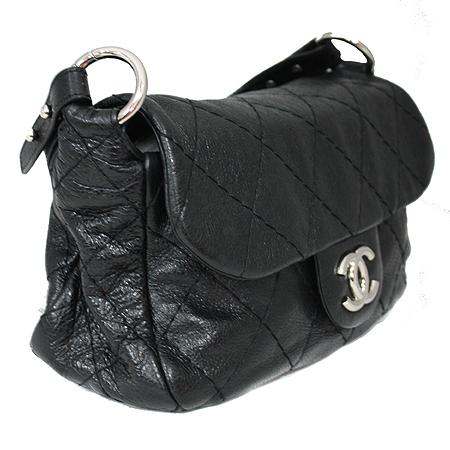 Chanel(샤넬) 은장 COCO 로고 블랙 레더 퀼팅 숄더백 [명동매장] 이미지3 - 고이비토 중고명품