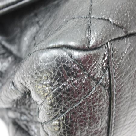 Chanel(샤넬) 은장 COCO 로고 블랙 레더 퀼팅 숄더백 [명동매장] 이미지5 - 고이비토 중고명품