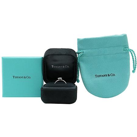 Tiffany(티파니) PT950(플래티늄) 3포인트 다이아 웨딩 반지- 8호 [압구정매장]