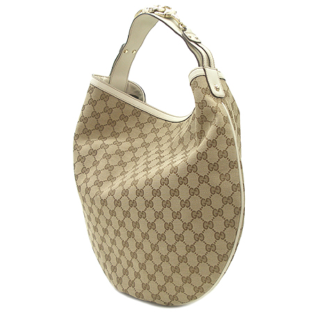 Gucci(구찌) 170014 GG 로고 자가드 호보 숄더백