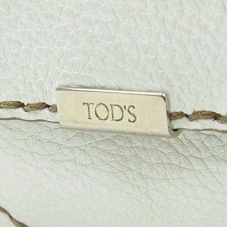 Tod's(토즈) 레더 원포켓 짚업 토트백