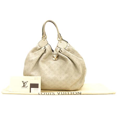 Louis Vuitton(루이비통) M95546 마히나 레더 그레이 XXL사이즈 숄더백 [강남본점]