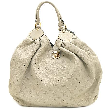 Louis Vuitton(루이비통) M95546 마히나 레더 그레이 XXL사이즈 숄더백