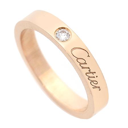 Cartier(까르띠에) B4086400 18K(750) 핑크 골드 1포인트 다이아 웨딩 밴드 반지 -7호 이미지3 - 고이비토 중고명품