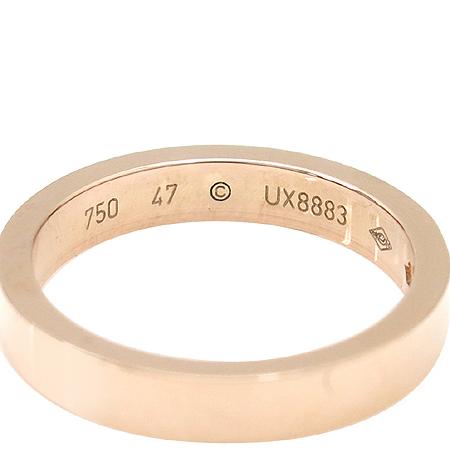 Cartier(까르띠에) B4086400 18K(750) 핑크 골드 1포인트 다이아 웨딩 밴드 반지 -7호 이미지5 - 고이비토 중고명품