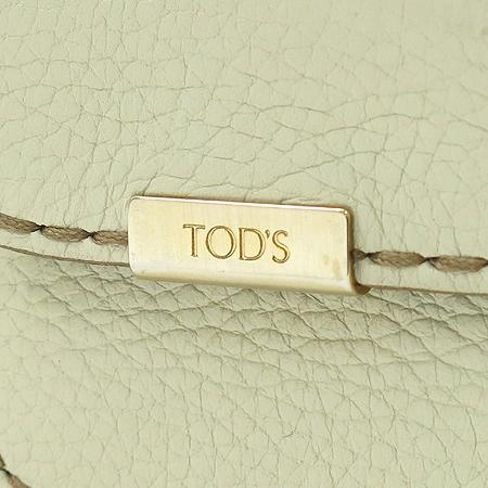 Tod's(토즈) 더블 포켓 스티치 장식 짚업 토트백 이미지7 - 고이비토 중고명품