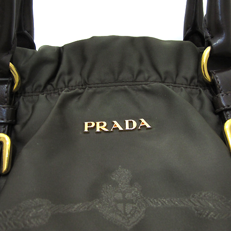 Prada(프라다) BR4258 밀라노 로고 패브릭 금장 로고 2WAY [부천 현대점]