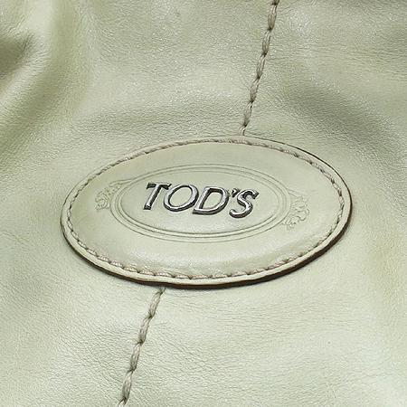 Tod's(토즈) 아이보리 레더 G백 2WAY