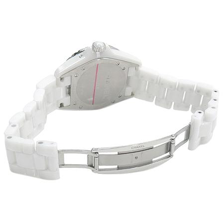 Chanel(샤넬) H3404 J12 문페이즈(MOONPHASE) 화이트 세라믹 오토매틱 남성용 시계