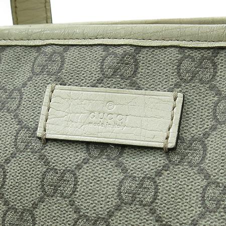 Gucci(구찌) 181084 GG로고 PVC 쇼퍼 숄더백
