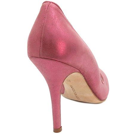 MANOLO BLAHNIK (마놀로블라닉) 핑크 컬러 구두
