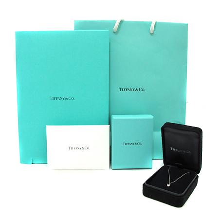 Tiffany(티파니) PT950 (플래티늄) 0.18캐럿 1포인트 J컬러 다이아 목걸이 [부천 현대점]