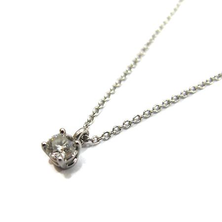 Tiffany(티파니) PT950 (플래티늄) 0.18캐럿 1포인트 J컬러 다이아 목걸이 [부천 현대점] 이미지4 - 고이비토 중고명품