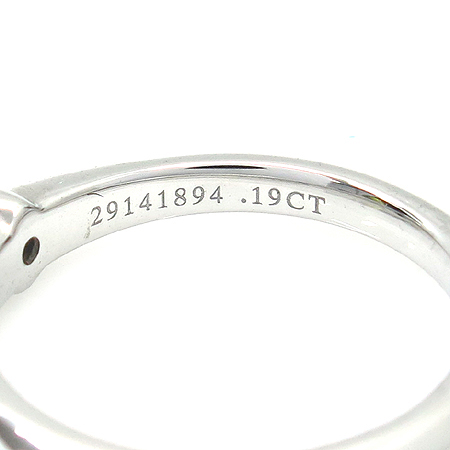 Tiffany(Ƽ�Ĵ�) PT950(�÷�Ƽ��) 0.19CT(�ɷ�) H�÷� VS1 1����Ʈ ���̾� ���� ���� - 9.5ȣ [�б�������]