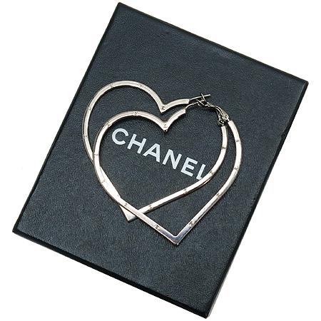 Chanel(샤넬) 하트 링 귀걸이