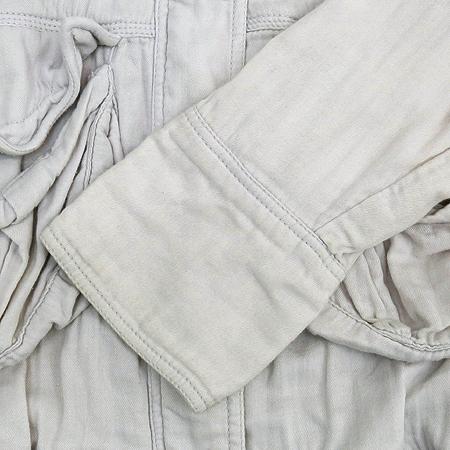 CODES COMBINE(코데즈컴바인) 라이트그레이 컬러 후드 집업 점퍼