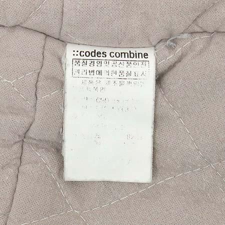 CODES COMBINE(코데즈컴바인) 그레이 컬러 후드 집업 점퍼