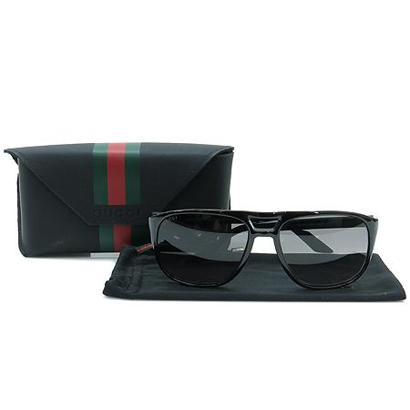 Gucci(구찌) GG1018 측면 삼선 뿔테 선글라스