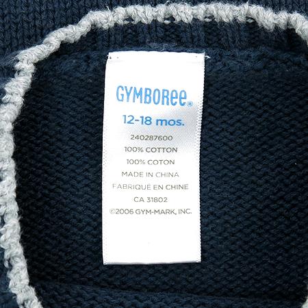 GYMBOREE(짐보리) 유아용 다크네이비 컬러 라운드넥 니트 이미지5 - 고이비토 중고명품