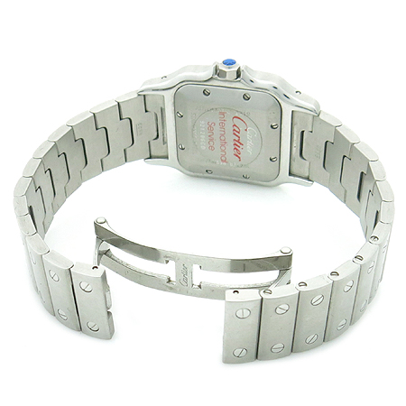 Cartier(까르띠에) W20055D6 SANTOS (산토스) LM사이즈 오토매틱 남성용 스틸 시계[부천 현대점]
