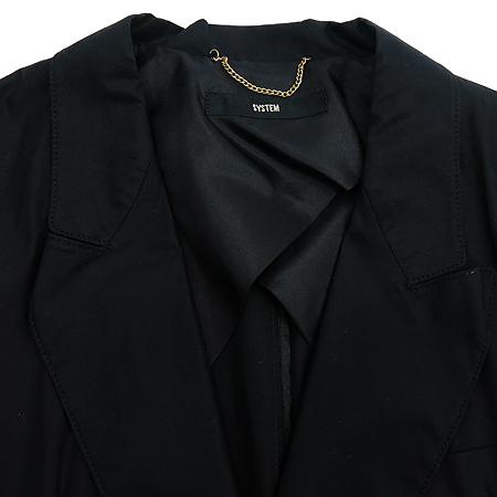 System(시스템) 블랙 컬러 투버튼 자켓