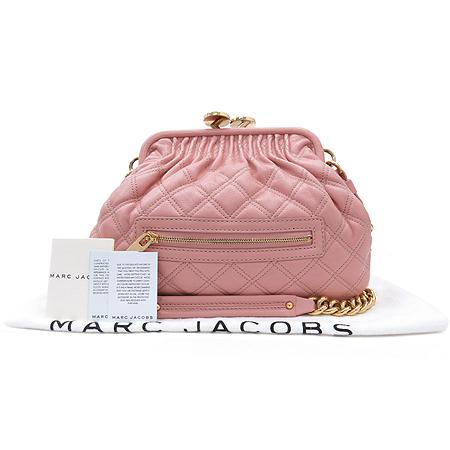 Marc_Jacobs C3113002 핑크컬러 리틀 스탐 금장체인숄더백