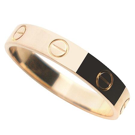 Cartier(까르띠에) B4085249 18K 핑크 골드 미니 러브링 반지 - 9호 [명동매장]
