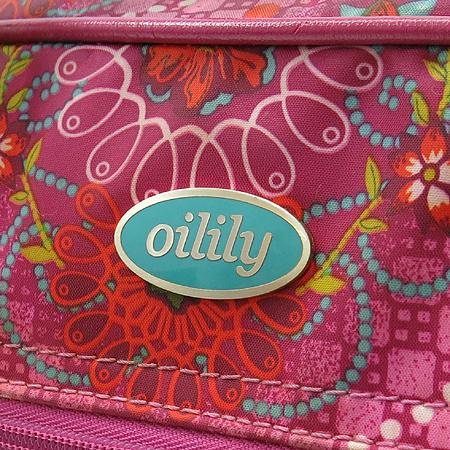 Oilily(오일릴리) 플라워 프린팅 토트백 + 숄더 스트랩