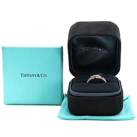 Tiffany(티파니) 18K(750) 화이트골드 아틀라스 5mm 3포인트 다이아 반지-9호 [동대문점]