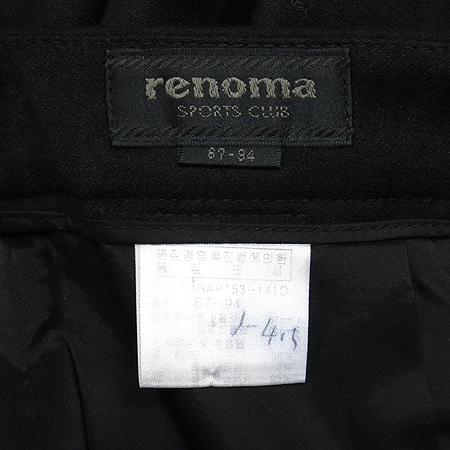 RENOMA(레노마) 블랙컬러 반바지