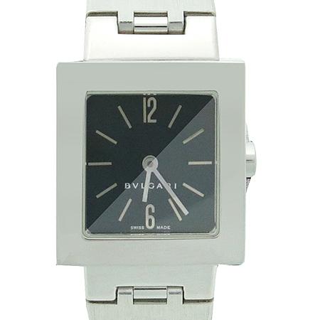 Bvlgari(불가리) SQ22SS 사각 스틸 밴드 여성용 시계
