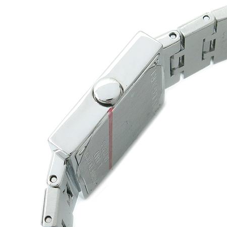 Bvlgari(불가리) SQ22SS 사각 스틸 밴드 여성용 시계 이미지4 - 고이비토 중고명품
