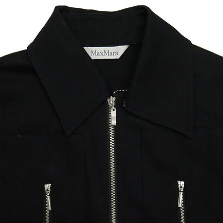 Max Mara(막스마라) 블랙컬러 집업 자켓