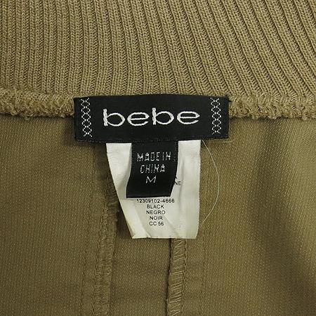 BEBE(베베) 베이지컬러 집업 자켓
