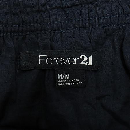 FOREVER21(포에버21) 네이비컬러 스커트 (허리끈SET)